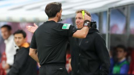 Vergisst öfters mal seine Regenjacke und sieht Gelb: Leipzig-Coach Julian Nagelsmann.
