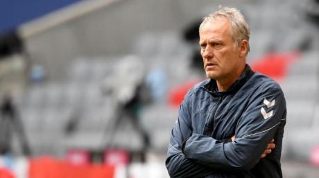 Muss zum Saisonabschluss mit Freiburg gegen Schalke ran: SC-Coach Christian Streich.