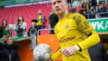 BVB-Star Marco Reus hofft auf eine Comeback in der neuen Saison.
