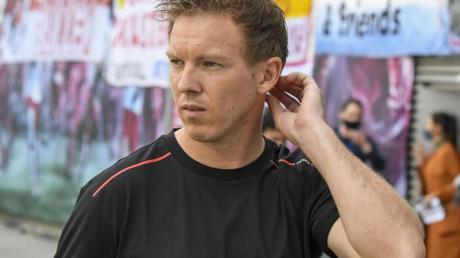 Heiß auf den dritten Platz: Leipzigs Trainer Julian Nagelsmann.