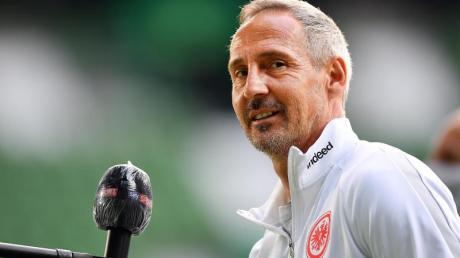 Will den Eintracht-Kader etwas verkleinern: Frankfurts Trainer Adi Hütter.
