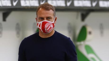Würde Thiago gerne weiter beim FCBayern sehen: Trainer Hansi Flick.