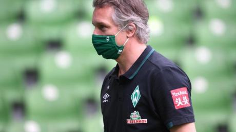 Werders Sport-Geschäftsführer Frank Baumann braucht keinDuell mit dem HSV.