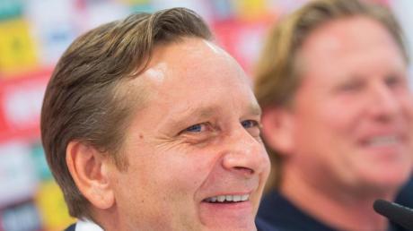 Sportchef Horst Heldt verlängerte seinen Vertrag beim 1. FCKöln.