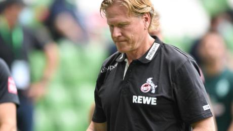 Soll seinen Vertrag beim 1. FC Köln verlängern:Trainer Markus Gisdol.