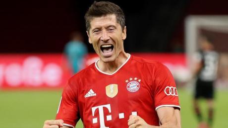 Hätte es nach Lothar Matthäus verdient an der Wahl zum Weltfußballer teilzunehmen: Robert Lewandowski.