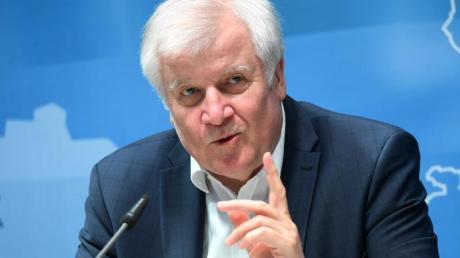 Bundesinnenminister Horst Seehofer drängt auf eine gemeinsame europäische Lösung in der Migrationspolitik.