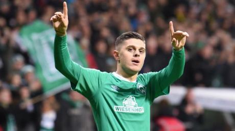Würde gern zu RB Leipzig wechseln: Milot Rashica von Werder Bremen.