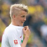 Wurde positiv auf das Coronavirus getestet: Felix Götze vom FC Augsburg.