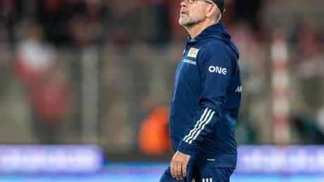 Hat sich auf eine Nummer eins im Berliner Tor festgelegt:Union-Coach Urs Fischer.