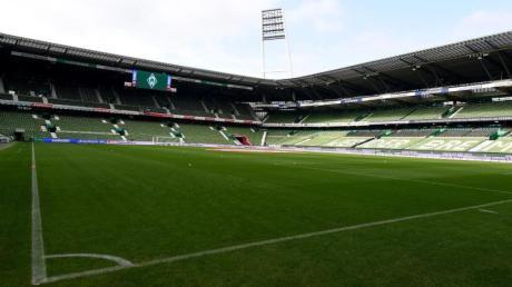 Die Tribünen im Bremer Weserstadion bleiben auch im Heimspiel gegen Hoffenheim leer.