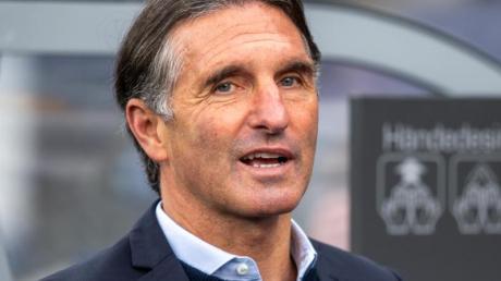 Ist mit Hertha in Leipzig gefordert: Trainer Bruno Labbadia.