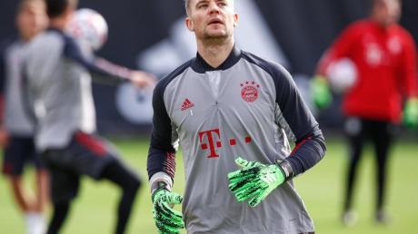 Bayern-Torwart Manuel Neuer will mit seinem Team gegen Eintracht Frankfurt gewinnen.