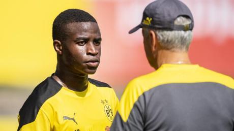 Steht vor seinem ersten Bundesliga-Einsatz: BVB-Talent Youssoufa Moukoko.