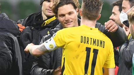 Marco Reus sorgte mit seinem Tor für ein gelungenes Debüt von Edin Terzic als BVB-Coach.