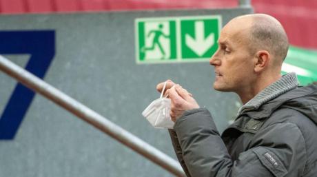 Sehnt sich nach Spielen vor vollen Rängen: FCA-Coach Heiko Herrlich.