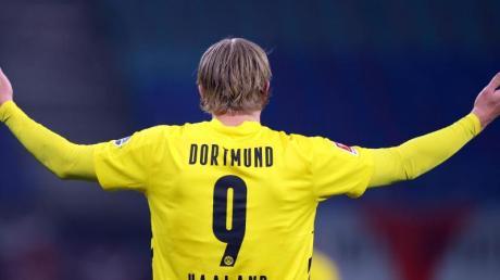 Hat den früheren Bundestrainer Jürgen Klinsmann beeindruckt: Dortmunds Erling Haaland.