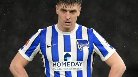 Krzysztof Piatek spielt seit einem Jahr für Hertha BSC.