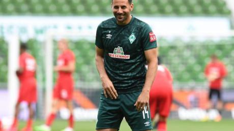 Claudio Pizarro hatte seine Karriere beim SV Werder Bremen beendet.