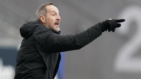 Trainer Adi Hütter formte Eintracht Frankfurt zu einem Spitzenteam.