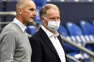 Sport-Geschäftsführer Stefan Reuter (rechts) und Trainer Heiko Herrlich geben beim FCA die Richtung vor.