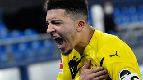 Erzielte beim 4:0 über Schalke sein 35. Bundesliga-Tor: Jadon Sancho.