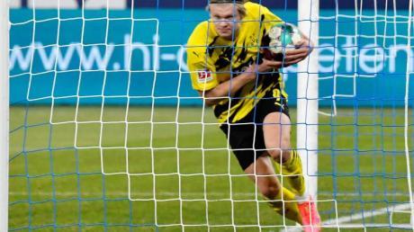 Beim BVB überzeugt Erling Haaland mit Leistung und Toren.