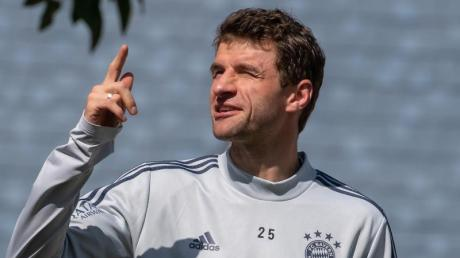 Hat beim FC Bayern das Training wieder aufgenommen: Thomas Müller.