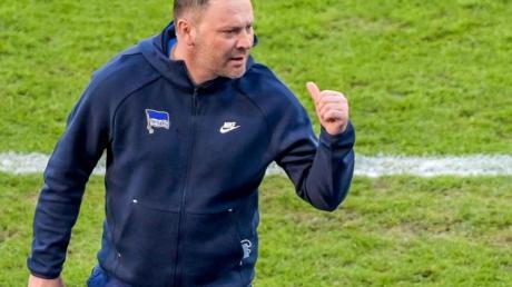 Hertha-Trainer Pal Dardai möchte, dass seine Spieler Energie auf dem Platz versprühen.