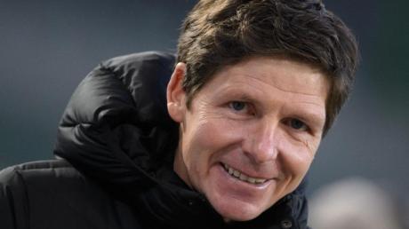 Wolfsburgs Trainer Oliver Glasner konzentriert sich voll auf den nächsten Gegner Hertha BSC.