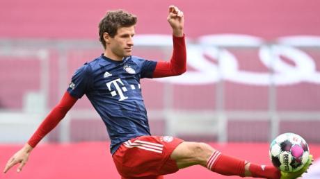 Trainiert, um schnell wieder in die Startelf der Bayern zurückkehren zu können: Thomas Müller.