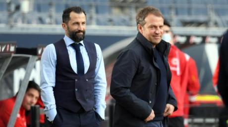 HansiFlick und Sportvorstand HasanSalihamidzic arbeiten beim FC Bayern nicht reibungslos zusammen.