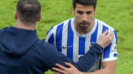 Muss von Hertha-Coach Pal Dardai etwas gebremst werden: Sami Khedira.