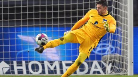 Ist an Covid-19 erkrankt: Rune Jarstein vom Hertha BSC.