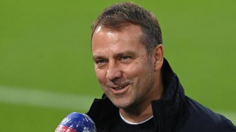 Will mit Bayern als Abschied noch den Titel holen: Trainer Hansi Flick.