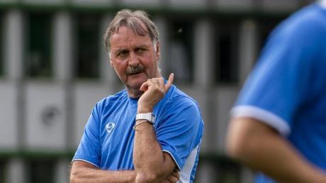 Peter Neururer, 1989 bis 1990 Trainer vom FC Schalke 04.