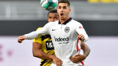 Hat offenbar das Interesse von Real Madrid geweckt: Eintracht-Torjäger André Silva.