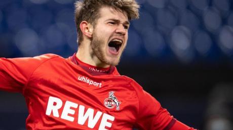 Hat seinen Vertrag beim 1. FC Köln vorzeitig verlängert: Jan Thielmann.