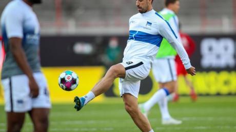 Hertha BSC und Sami Khedira sind zurück im Training.