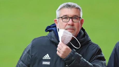 Hat seinen Vertrag bei Union Berlin erst imDezember 2020 verlängert: Trainer Urs Fischer.