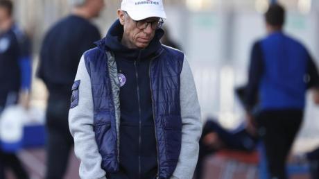 Peter Stöger betreut derzeit noch Austria Wien.