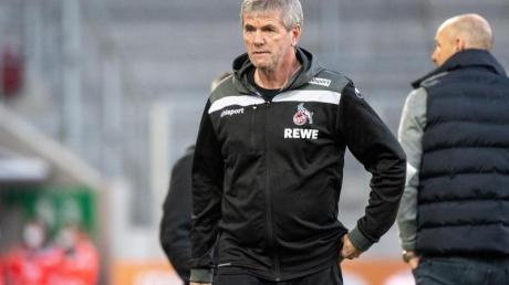 Für Köln-Trainer Friedhelm Funkel wären Relegationsspiele gegen Düsseldorf ein Albtraum.