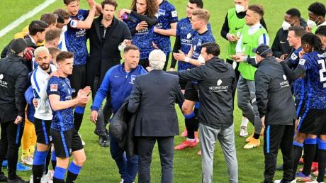 Die Berliner müssen fünf Spiele in 13 Tagen absolvieren.