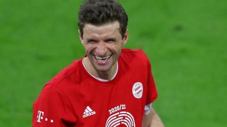 Thomas Müller: «Als kleiner Junge denkst du nicht daran, dass du irgendwann mal beim FC Bayern in der ersten Mannschaft spielst.».