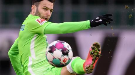 Der Wolfsburger Renato Steffen verletzte sich am Sprunggelenk.