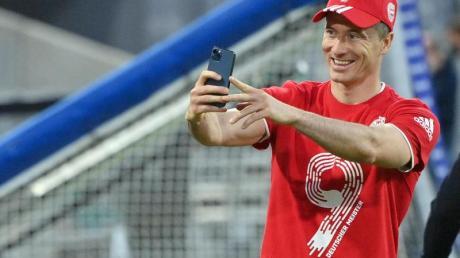 Ist auf Rekordkurs: Bayern-Torjäger Robert Lewandowski.