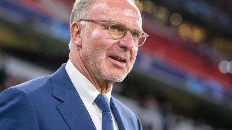 Schließt einen Abgang von Bayern-Torjäger Robert Lewandwoski aus: Karl-Heinz Rummenigge.