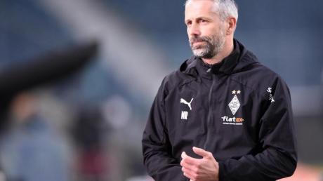 Für Gladbachs Trainer Marco Rose ist es der letzte Auftritt im Borussia-Park vor seinem Wechsel zum BVB.