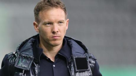 Wechselt ohne seinen langjährigen Assistenten Timmo Hardung nach München: Leipzig-Trainer Julian Nagelsmann.