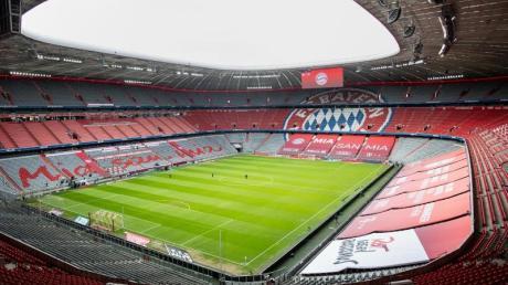 Auch beim letzten Heimspiel des FC Bayern werden keine Zuschauer in der Allianz Arena sein.